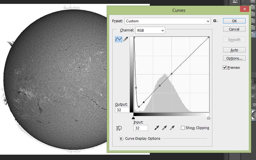 Solar Duotone Processing | Curves