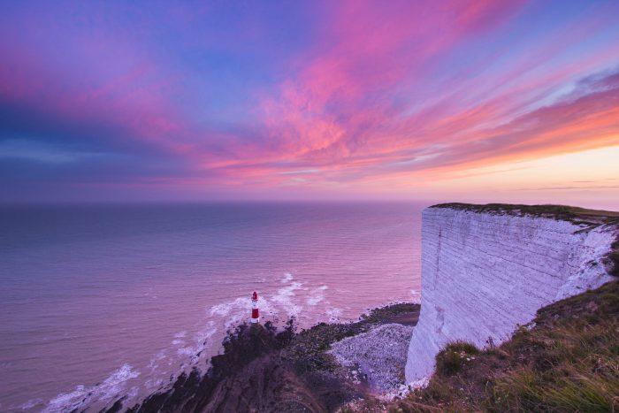 Beachy Head, Eastbourne, UK