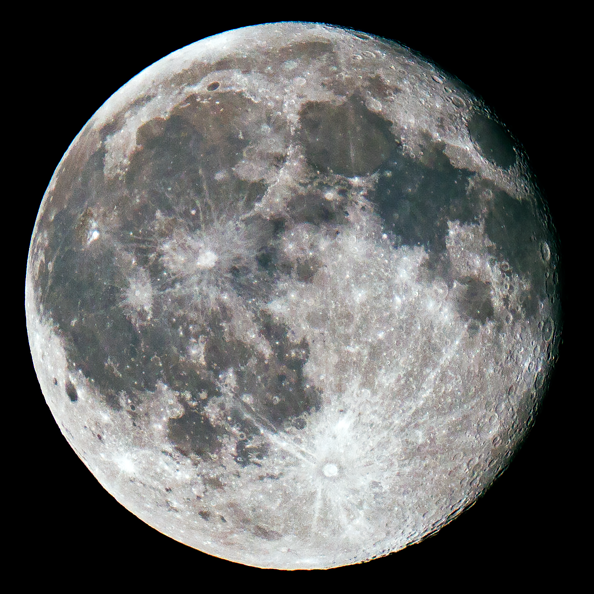 Moon Processing - Final Image