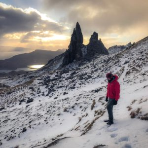 Old Man of Storr at sunrise