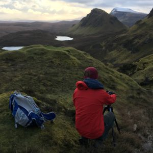 Quiraing in the Isle of Skye